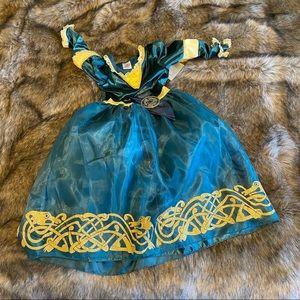 Girls Disney Parks Merida Costume Dress